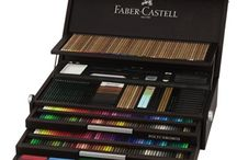 Profi íróeszközök / High end quality colour pencils and sets.