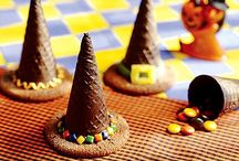 Fall Halloween Party Ideas / Ideas for food, drinks and decor