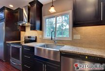 Espresso Cabinets / by Cabinets.com by Kitchen Resource Direct