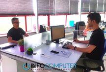 EQUIPO HUMANO / Personas al servicio de personas. En #Infocomputer estamos aquí para ayudaros, para facilitaros la vida con nuestros productos.   Parte de nuestro equipo digital se dedica a cuidar a diario los detalles de nuestra web para que la Experiencia de Usuario sea lo más óptima y positiva posible para vosotros.  Web: www.info-computer.com  Teléfono: 913188914 Whatsapp: 692187213 Mail: info-com@info-computer.com Skype: infocomputer.madrid