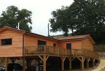 REALISATIONS MODELE BOTANIQUE ET PACIFIQUE / Exemples de réalisations de maisons construites par Ami Bois et inspirées du modèle BOTANIQUE et du modèle PACIFIQUE Plus de renseignement sur http://www.ami-bois.fr/?q=node/4