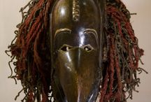 Chokwe Ceremonial Bird Mask - Congo DRC