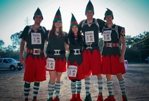 The Christmas Mile Fun Run / A one of a kind experience to run through the lights at Santa's Wonderland!