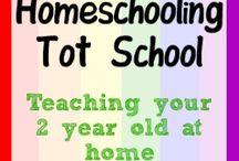 Tot school / by Jonathan & Lizzy Rybachek