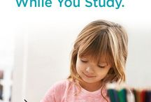 Keeping Kids Busy While You Study / Getting a degree while raising kids can be challenging. Whether you're a single parent or parenting with a partner, keeping your children occupied independently while you study is always important for your success in college. Argosy University has put together some ideas to help you focus on your learning and help you succeed in earning your degree while your kids are engaged in their own quiet learning.