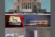 historical architectural models / historical architectural models History of Architecture with the models