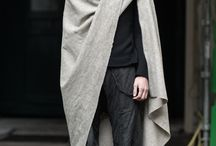Men's scarves and capes