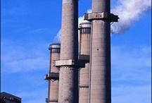 tall chimneys