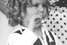 Shirley Temple / My mom's favorite little star. I can't help but think of my mama when I see Shirley Temple.
