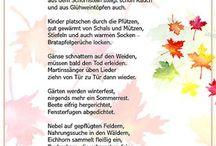 Gedichte Herbst