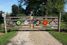 "Buy a Barn Quilt / Gardiner's Gate ""Custom Handcrafted Barn Quilts"""