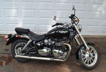 motorcycle / my motorcycle and other motorcycles