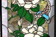 Glas Blumen