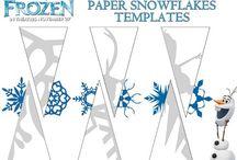 papírové vystřhovánky a skládanky
