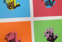 Art masterpiece for kindergarten / Ideas for talullah's class / by Angela Johnson