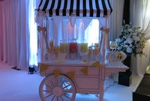 Candy Carts / Our Candy Carts available for weddings and special events.