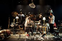 Cabaret Brise-Jour et autres manivelles / Tableau autour du spectacle Cabaret Brise-Jour et autres manivelles, joué du 2 au 4 Décembre 2014 au Théâtre de la Croix-Rousse.
