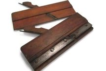 Vintage Tools and Machines / Hand crafted or machine made trade workers tools. Carving, woodworking, machining and machines.