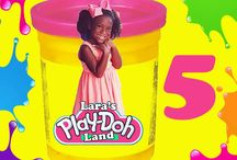 Lara's Play Doh Party