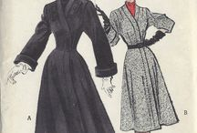Vintage Suits/Coats/Jackets / Inspiration for Sewing Vintage Coats, Jackets and Vintage Women's Suits. 1940s, 1950s, 1960s