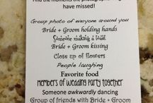 Fun Wedding ideas