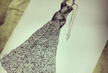 The story behind! / Fashion design, sketching, drawing , fashion illustration!