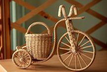 Плетение. Велосипед.