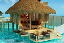 Casas na praia