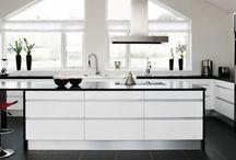 Kjøkkenideer / Ideer samlet opp til bygging av eget kjøkken