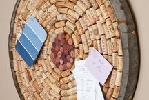 Wine Cork Crafts / by Wesley N Leslie Vickers