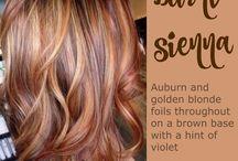 autumn kleuren haar
