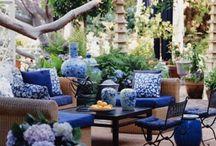 bahçe oturma gurup