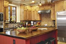 Kitchen ideas / Trying to design a kitchen with enough for our great big, meshed up, love filled family.  15 and counting ❤️ / by Pam Tilley