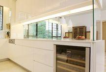 semi open kitchen