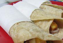 Food - Rolls, Wraps, Rotis, Dosas and Tacos