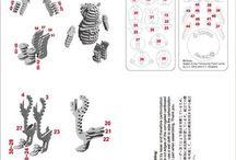 d torso cnc kit animals
