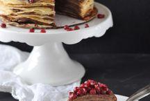 FOOD    Torten und Cupcakes / Rezepte oder Backdeen, die ich gerne mal ausprobieren möchte