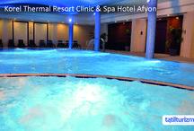 Korel Thermal Resort Clinic & Spa Hotel Afyon / Kış tatilinin keyfi Korel Thermal Resort Hotel Afyon'da çıkar! Türk hamamı, sauna ve termal havuzları ile hem sağlık hem eğlence dolu bir tatil Afyon'da sizi bekliyor.