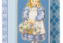 Cool and Blue / Some cooler coloured cardmaking inspiration.