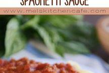 spagettie sauce