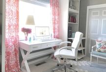 Creative Home Office / An INSPIRING Place to Create, Craft, and Dream.