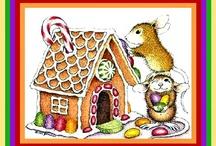 Christmas House Mouse