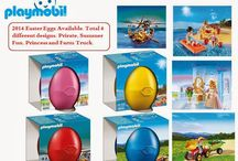 Playmobil Year 2014 Version Easter Eggs available.