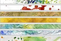 watercolor / aquarelles