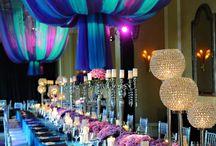 Purple & Turquoise