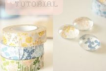 Crafts~Washi tape / by Sally McCroskey