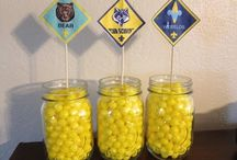 Cub Scouts - Blue & Gold / Ideas for Blue & Gold
