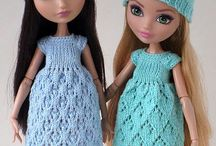 Куколки, вязание и многое другое / Интересные куклы и их наряды