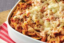 One-Pot Meals & Casseroles / Meals, like casseroles, you can make for your family in just one pot, one pan, one skillet, one roasting pan, etc. to minimize post-dinner clean-up.