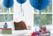 Honeycomb Decoraties / Honeycomb decoraties zijn helemaal hot tegenwoordig! Ze zien er vrolijk uit en door hun fleurige kleuren trekken ze meteen de aandacht. In een handomdraai is je kamer veranderd in een perfecte feestsetting!